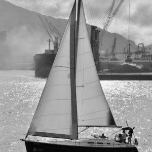 paseo en barco velero
