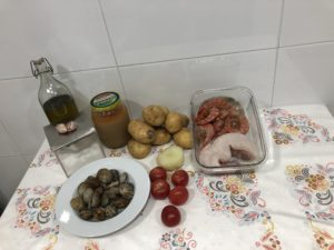 Suquet de pescado - Ingredientes
